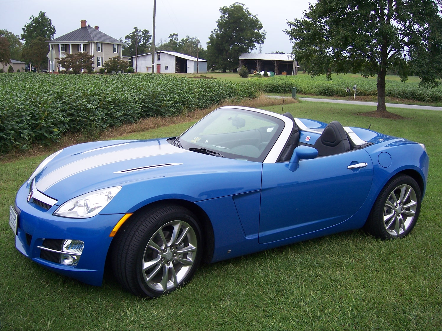 Hydro blue 2009 limited edition saturn sky for sale saturn sky forums saturn sky forum