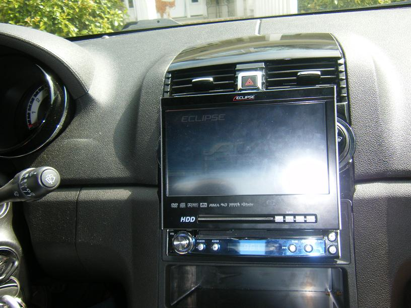 touch screen cd player look