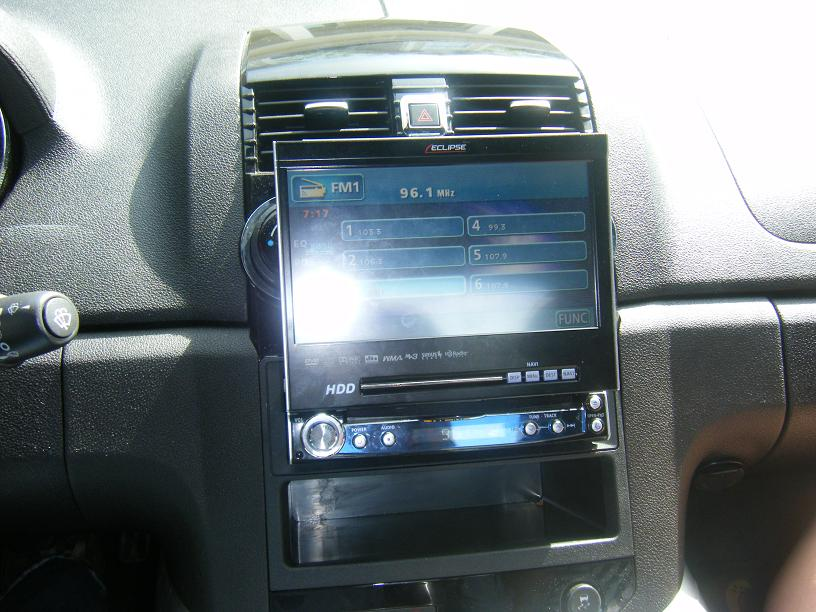 touch screen cd player semblance