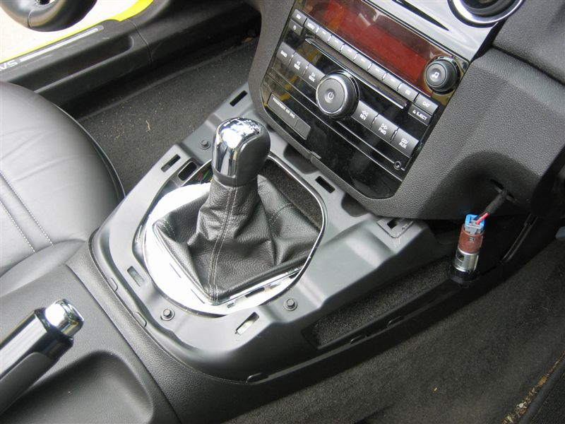 D Shifter Housing Removal Painting Sky Interior Mod Pix
