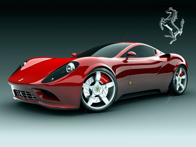 amazing ferrari concept car