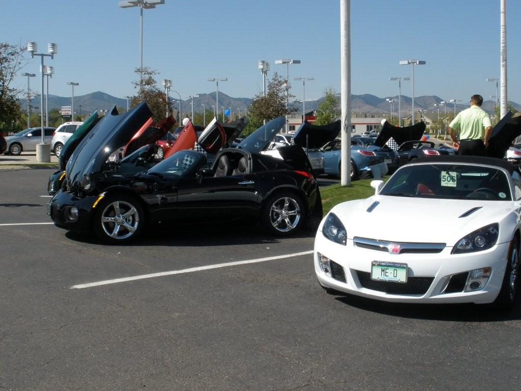 and car show - Saturn Sky