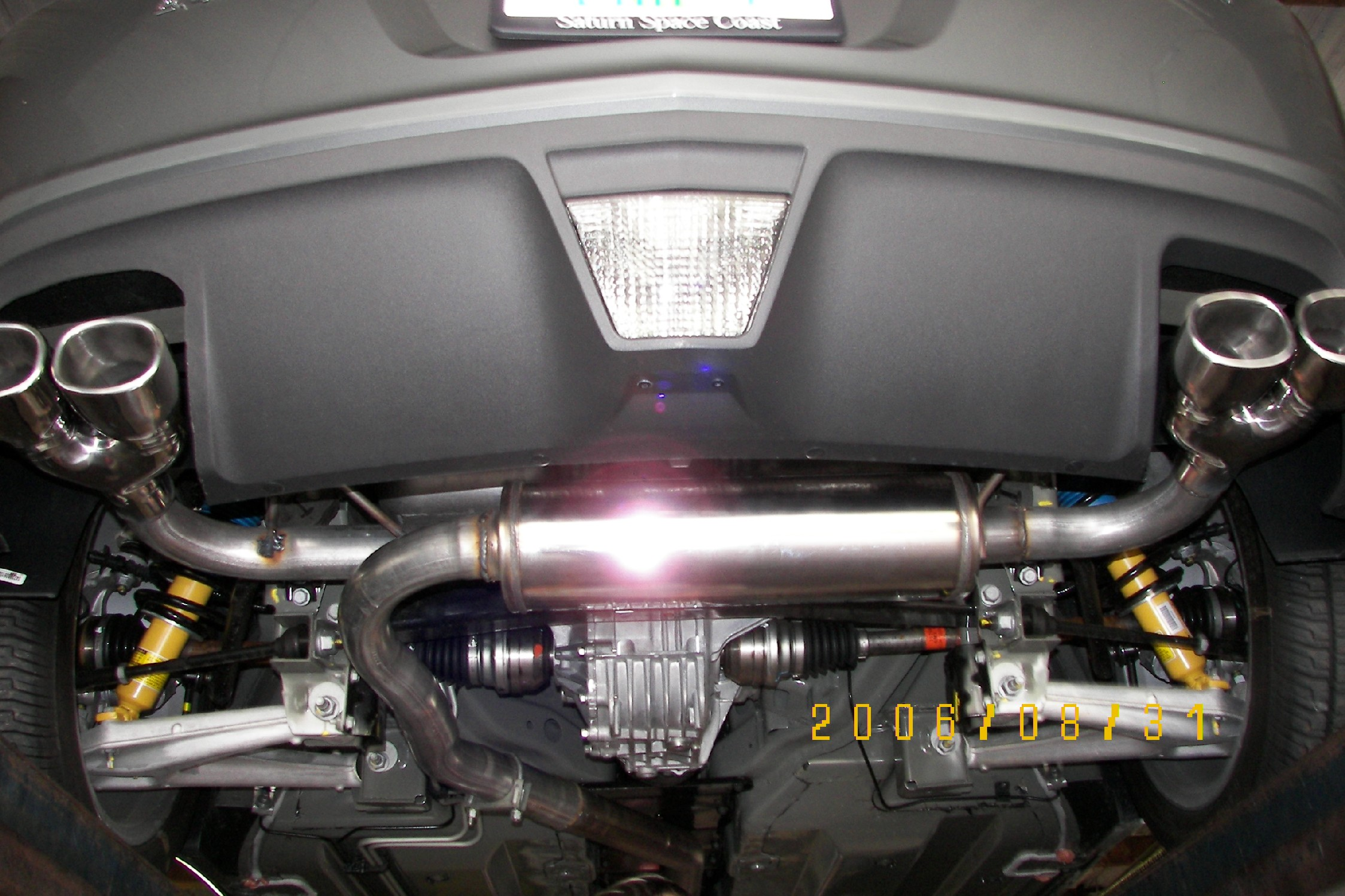 Finally got dual exhaust pictures resized saturn sky forums saturn sky forum