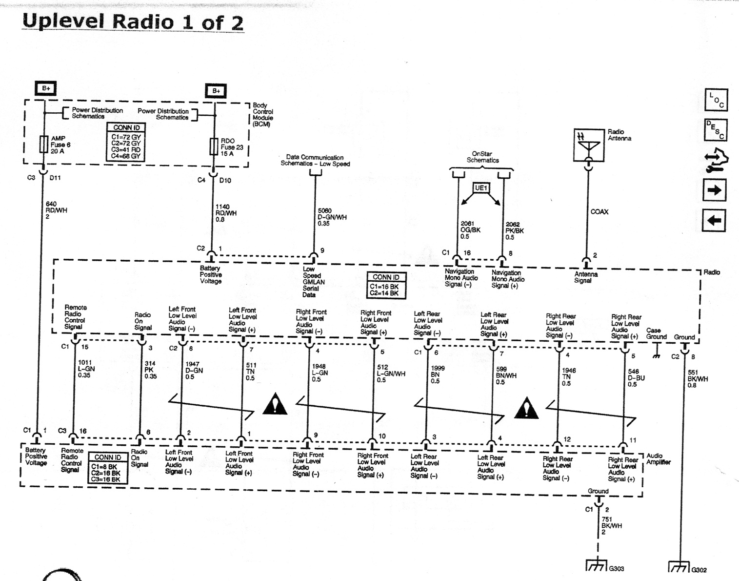 29801 monsoon amp speaker replacement monsoon_wiring_diagram_page_1 volkswagen monsoon wiring diagram wiring diagram simonand Monsoon Amplifier Specs at fashall.co