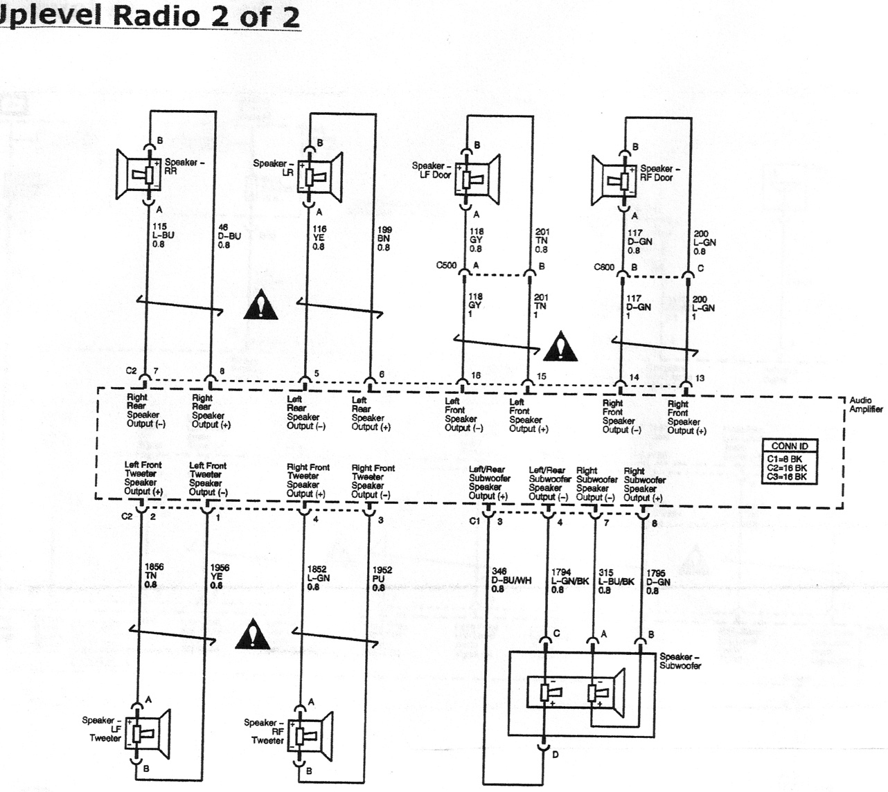 29802 monsoon amp speaker replacement monsoon_wiring_diagram_page_2 gm monsoon wiring diagram gm wiring diagrams instruction Monsoon Amplifier Specs at fashall.co