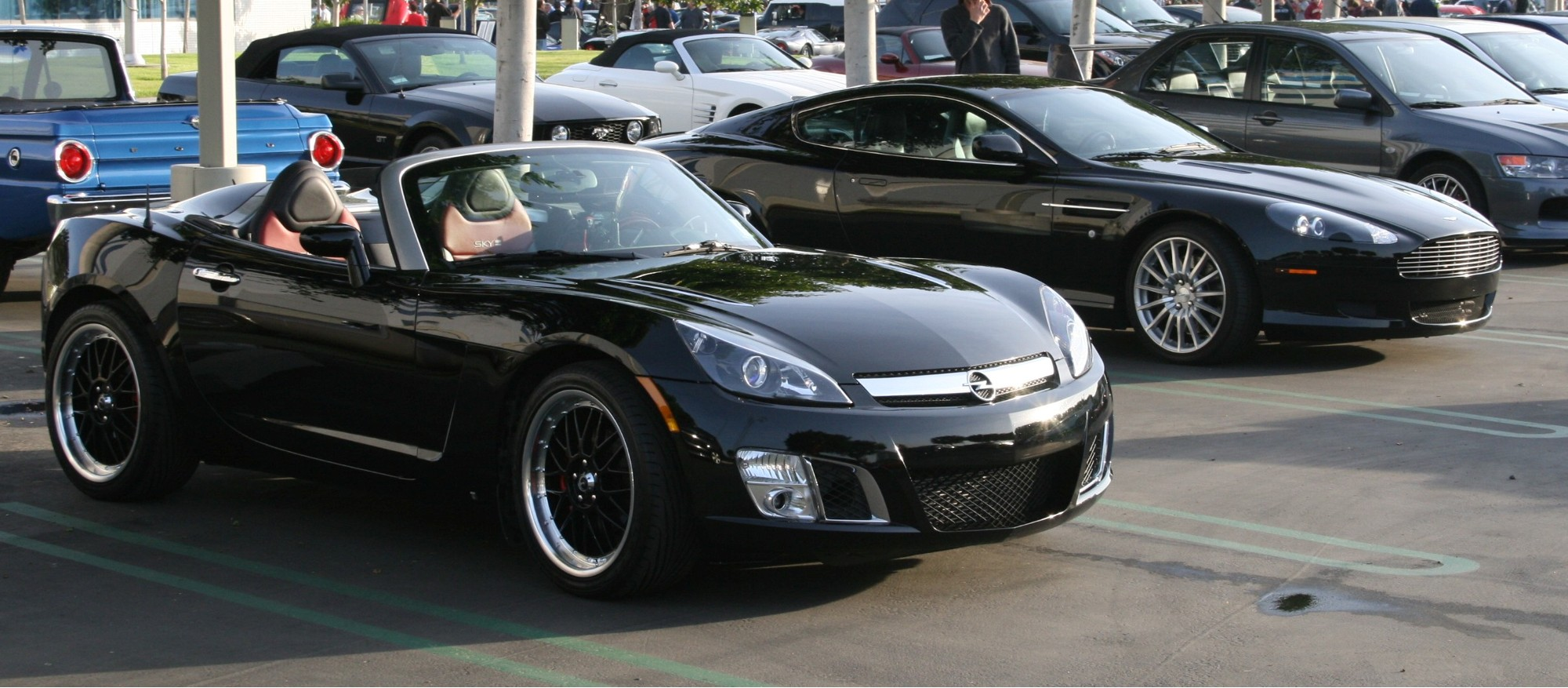 Or A Billet Grille, I Personally Deleted The Chrome Saturn Emblem On The  Front With This, But I Just Used The Upper Part: 2007 2009 Saturn Sky  Custom 2pc ...