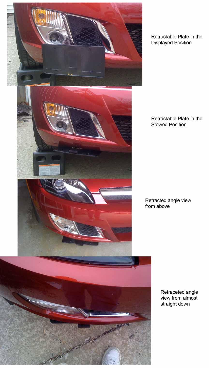 Hawk Brake Pads >> Retractable License plate (and chin scrapes) - Saturn Sky ...