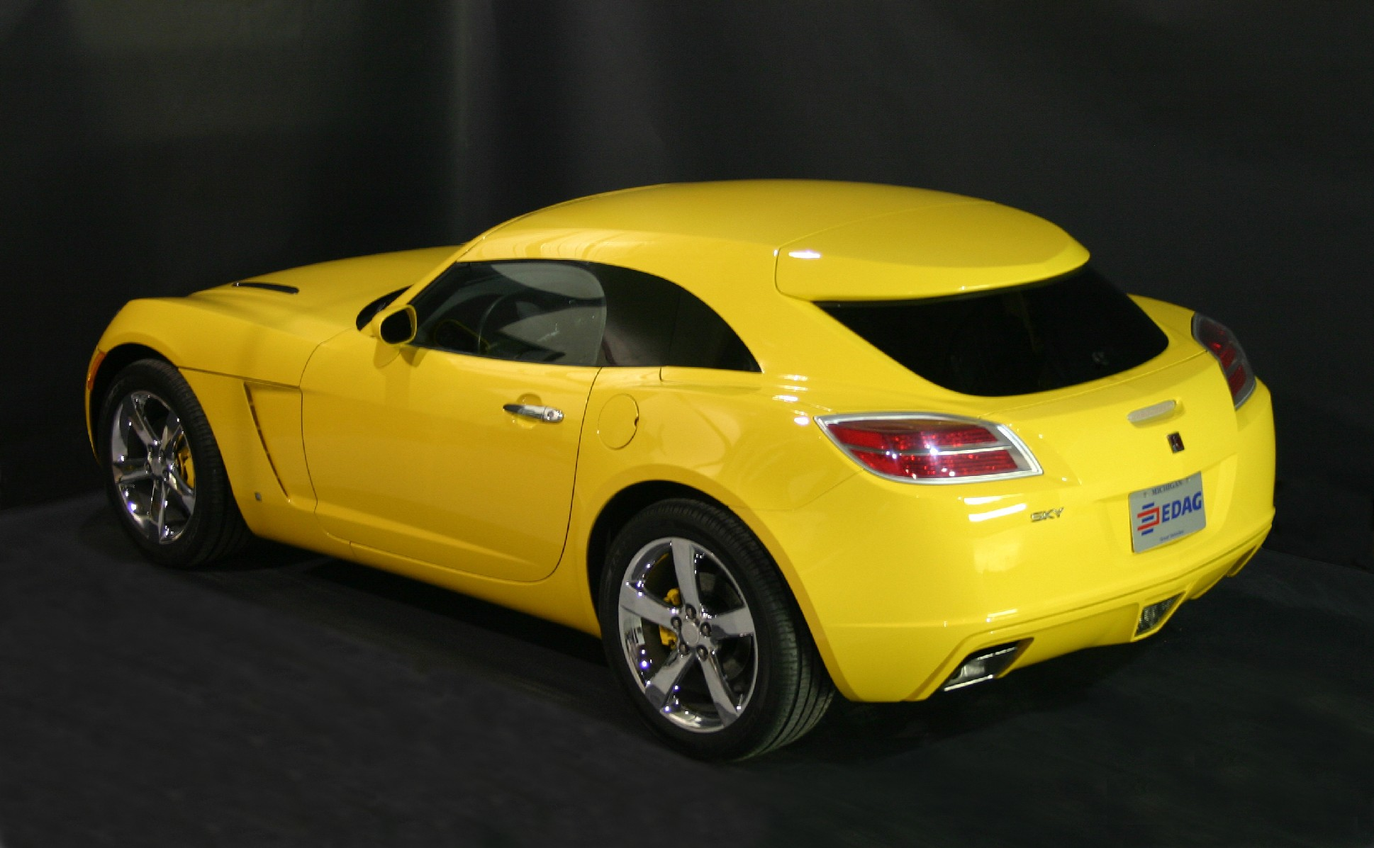 EDAG Hardtops at the Detroit Auto Show and taking orders