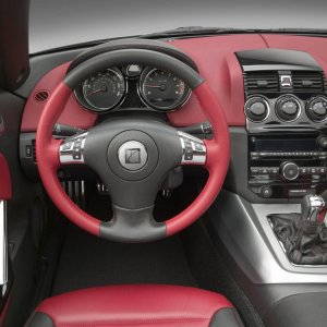High Res Saturn Sky Interior Picture