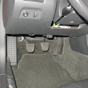 Drivers Pedals
