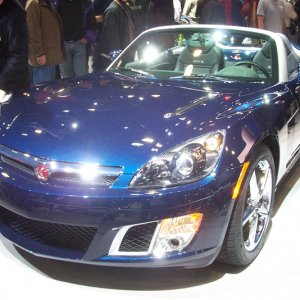 Saturn SKY RedLine at the NY Auto Show